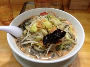 みそ壱 黒野菜みそラーメン